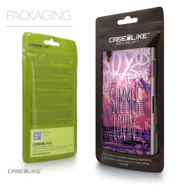 Packaging - CASEiLIKE Sony Xperia Z3 back cover Graffiti 2727
