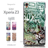 Collection - CASEiLIKE Sony Xperia Z3 back cover Graffiti 2728