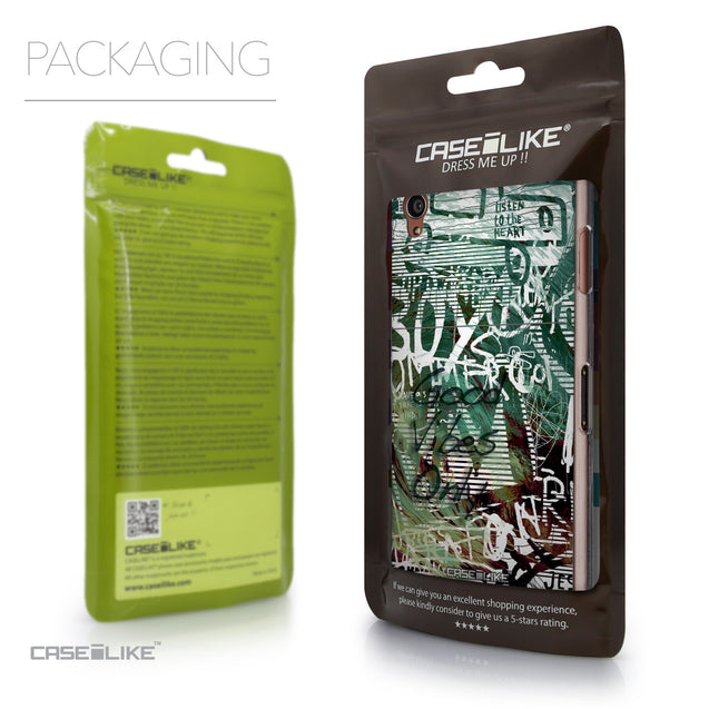 Packaging - CASEiLIKE Sony Xperia Z3 back cover Graffiti 2728