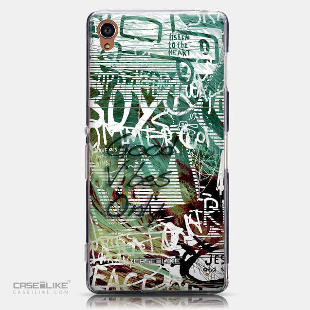 CASEiLIKE Sony Xperia Z3 back cover Graffiti 2728