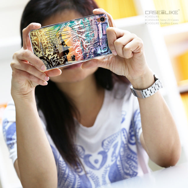 Share - CASEiLIKE Sony Xperia Z3 back cover Graffiti 2729