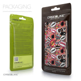 Packaging - CASEiLIKE Sony Xperia Z3 back cover Comic Captions Pink 2912