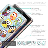 Details in English - CASEiLIKE Sony Xperia Z3 back cover Owl Graphic Design 3312
