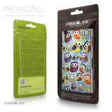 Packaging - CASEiLIKE Sony Xperia Z3 back cover Owl Graphic Design 3312