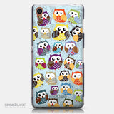 CASEiLIKE Sony Xperia Z3 back cover Owl Graphic Design 3312