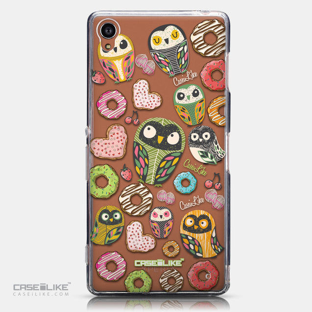 CASEiLIKE Sony Xperia Z3 back cover Owl Graphic Design 3315