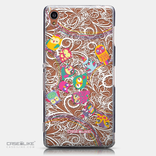 CASEiLIKE Sony Xperia Z3 back cover Owl Graphic Design 3316