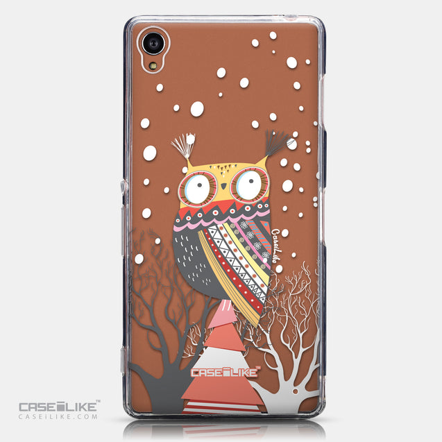 CASEiLIKE Sony Xperia Z3 back cover Owl Graphic Design 3317