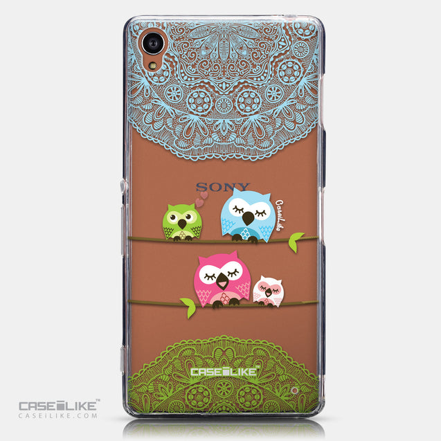 CASEiLIKE Sony Xperia Z3 back cover Owl Graphic Design 3318