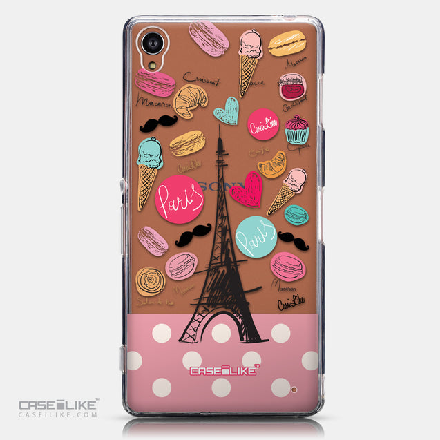 CASEiLIKE Sony Xperia Z3 back cover Paris Holiday 3904