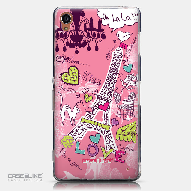 CASEiLIKE Sony Xperia Z3 back cover Paris Holiday 3905