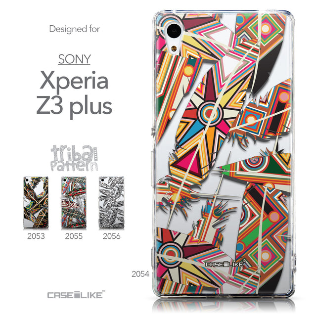 Collection - CASEiLIKE Sony Xperia Z3 Plus back cover Indian Tribal Theme Pattern 2054
