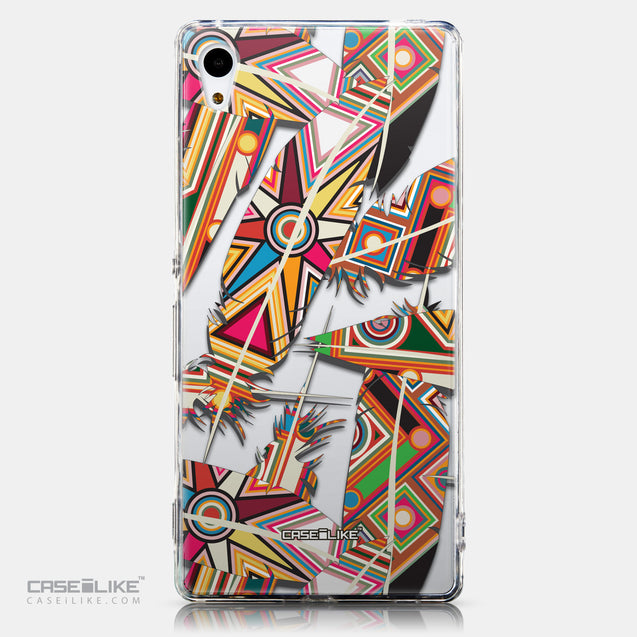 CASEiLIKE Sony Xperia Z3 Plus back cover Indian Tribal Theme Pattern 2054