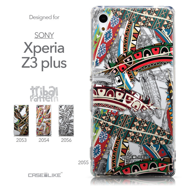 Collection - CASEiLIKE Sony Xperia Z3 Plus back cover Indian Tribal Theme Pattern 2055