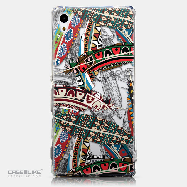 CASEiLIKE Sony Xperia Z3 Plus back cover Indian Tribal Theme Pattern 2055