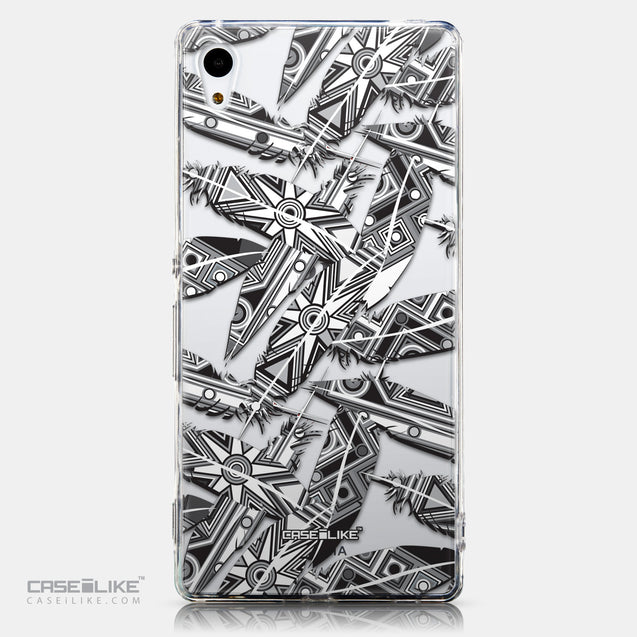 CASEiLIKE Sony Xperia Z3 Plus back cover Indian Tribal Theme Pattern 2056