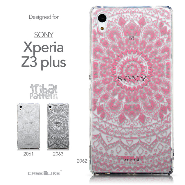 Collection - CASEiLIKE Sony Xperia Z3 Plus back cover Indian Line Art 2062