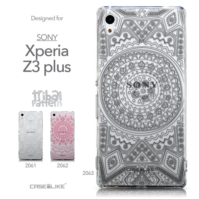 Collection - CASEiLIKE Sony Xperia Z3 Plus back cover Indian Line Art 2063