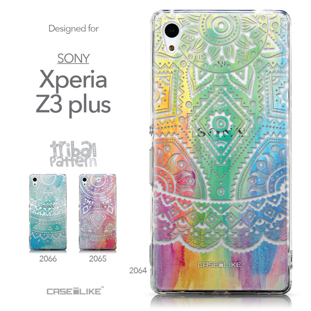 Collection - CASEiLIKE Sony Xperia Z3 Plus back cover Indian Line Art 2064