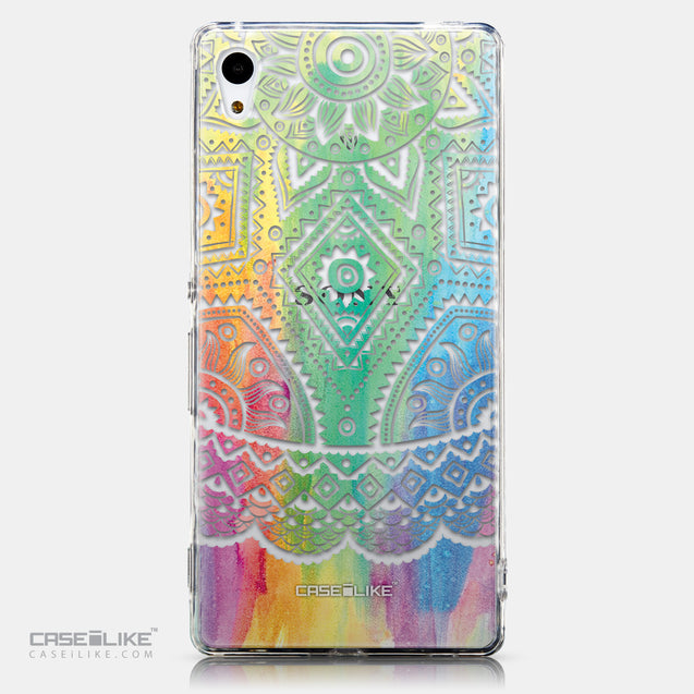 CASEiLIKE Sony Xperia Z3 Plus back cover Indian Line Art 2064