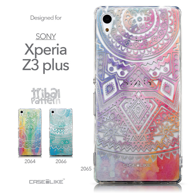 Collection - CASEiLIKE Sony Xperia Z3 Plus back cover Indian Line Art 2065