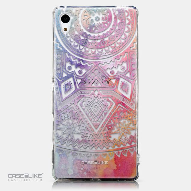CASEiLIKE Sony Xperia Z3 Plus back cover Indian Line Art 2065
