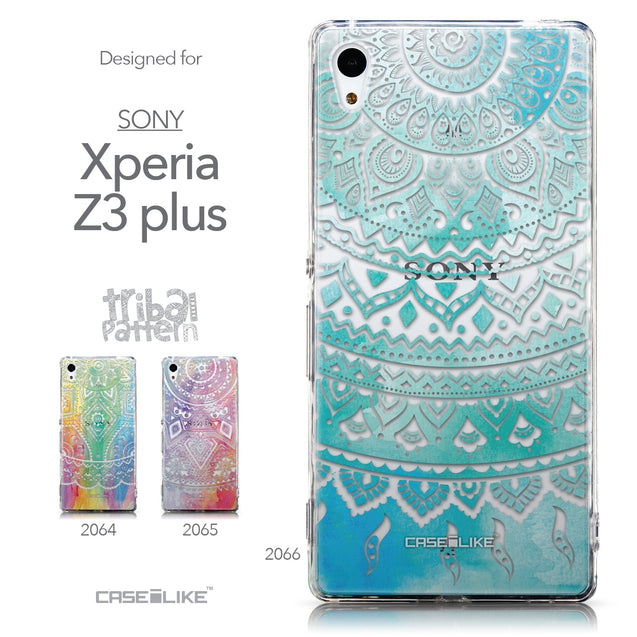 Collection - CASEiLIKE Sony Xperia Z3 Plus back cover Indian Line Art 2066