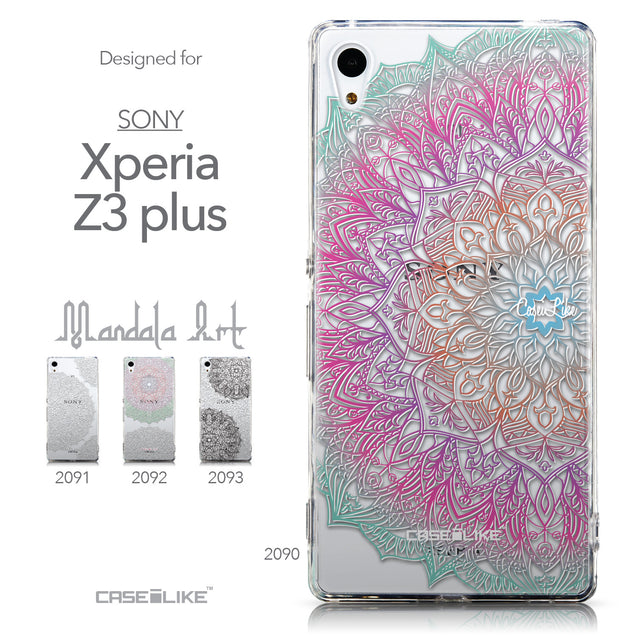 Collection - CASEiLIKE Sony Xperia Z3 Plus back cover Mandala Art 2090