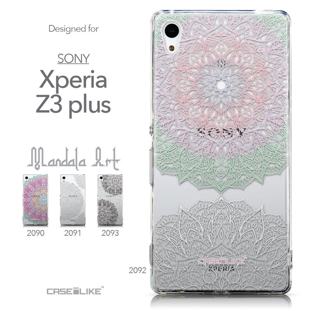 Collection - CASEiLIKE Sony Xperia Z3 Plus back cover Mandala Art 2092