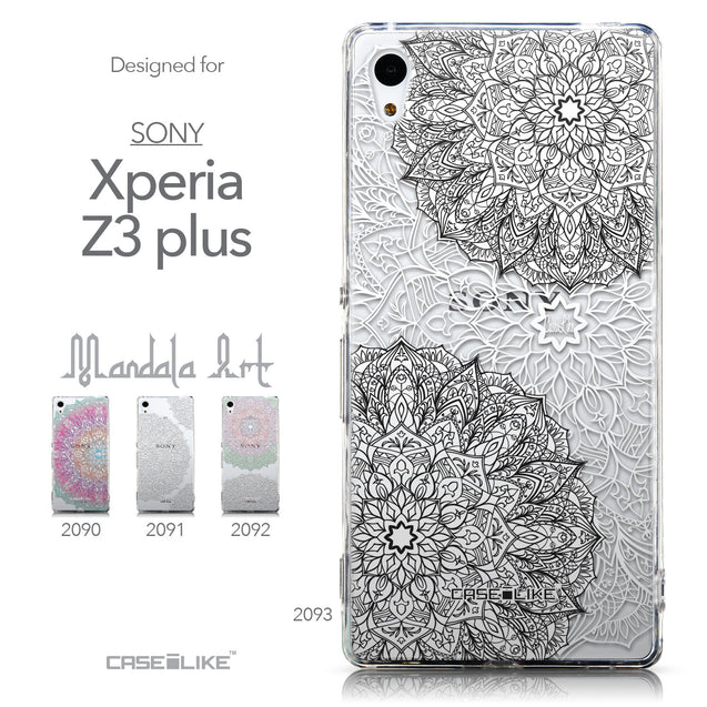 Collection - CASEiLIKE Sony Xperia Z3 Plus back cover Mandala Art 2093