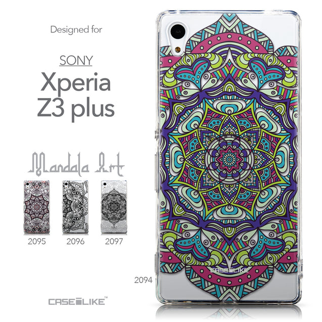 Collection - CASEiLIKE Sony Xperia Z3 Plus back cover Mandala Art 2094