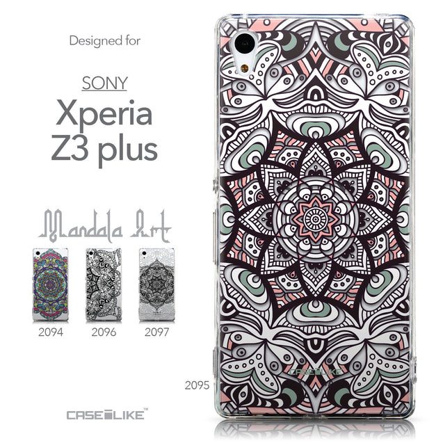 Collection - CASEiLIKE Sony Xperia Z3 Plus back cover Mandala Art 2095