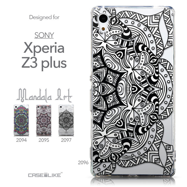 Collection - CASEiLIKE Sony Xperia Z3 Plus back cover Mandala Art 2096