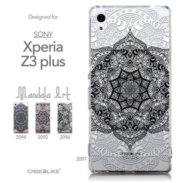 Collection - CASEiLIKE Sony Xperia Z3 Plus back cover Mandala Art 2097