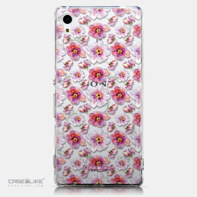 CASEiLIKE Sony Xperia Z3 Plus back cover Watercolor Floral 2232