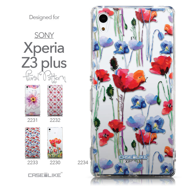 Collection - CASEiLIKE Sony Xperia Z3 Plus back cover Indian Line Art 2061