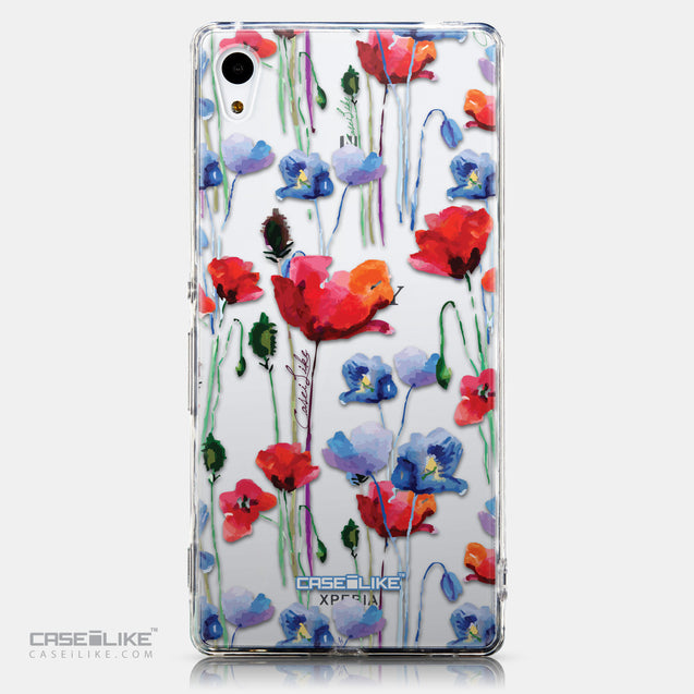 CASEiLIKE Sony Xperia Z3 Plus back cover Watercolor Floral 2234