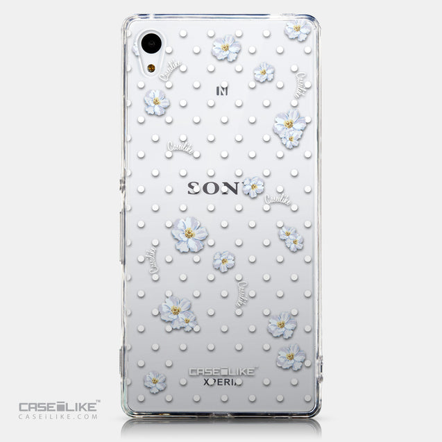 CASEiLIKE Sony Xperia Z3 Plus back cover Watercolor Floral 2235