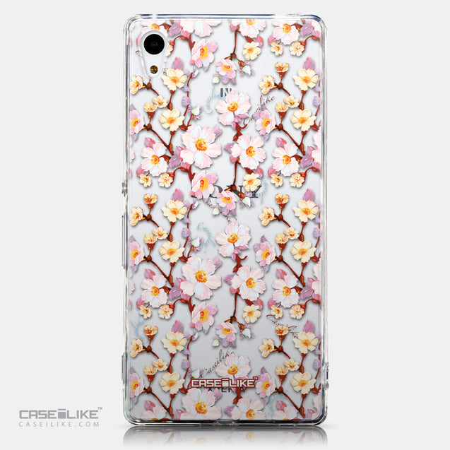 CASEiLIKE Sony Xperia Z3 Plus back cover Watercolor Floral 2236