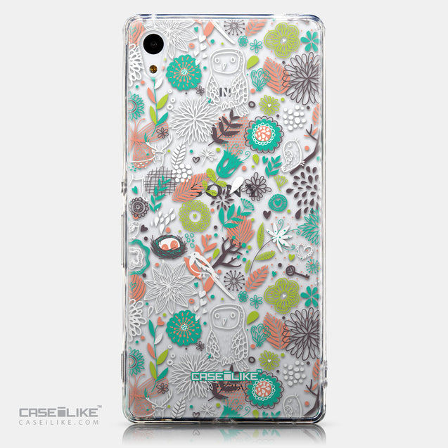 CASEiLIKE Sony Xperia Z3 Plus back cover Spring Forest White 2241