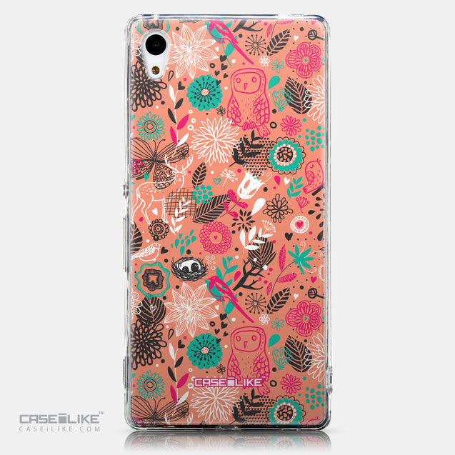 CASEiLIKE Sony Xperia Z3 Plus back cover Spring Forest Pink 2242
