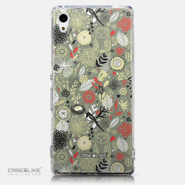 CASEiLIKE Sony Xperia Z3 Plus back cover Spring Forest Gray 2243