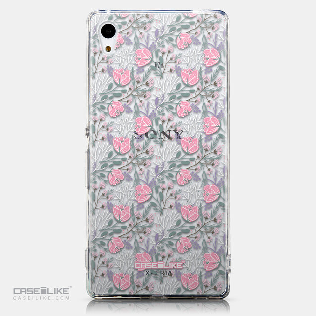 CASEiLIKE Sony Xperia Z3 Plus back cover Flowers Herbs 2246