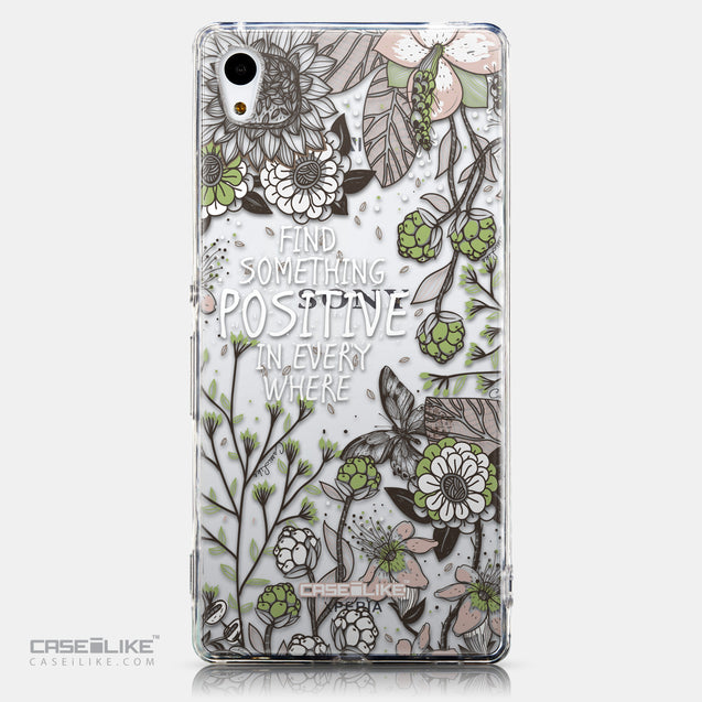 CASEiLIKE Sony Xperia Z3 Plus back cover Blooming Flowers 2250