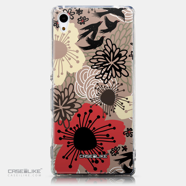 CASEiLIKE Sony Xperia Z3 Plus back cover Japanese Floral 2254