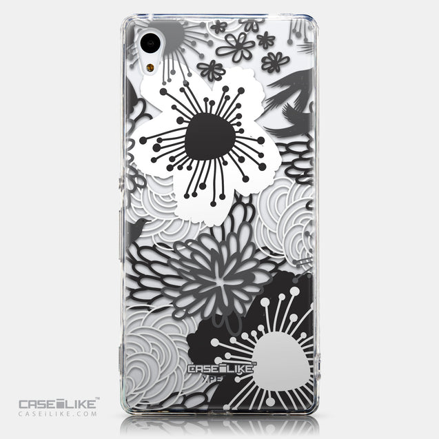 CASEiLIKE Sony Xperia Z3 Plus back cover Japanese Floral 2256