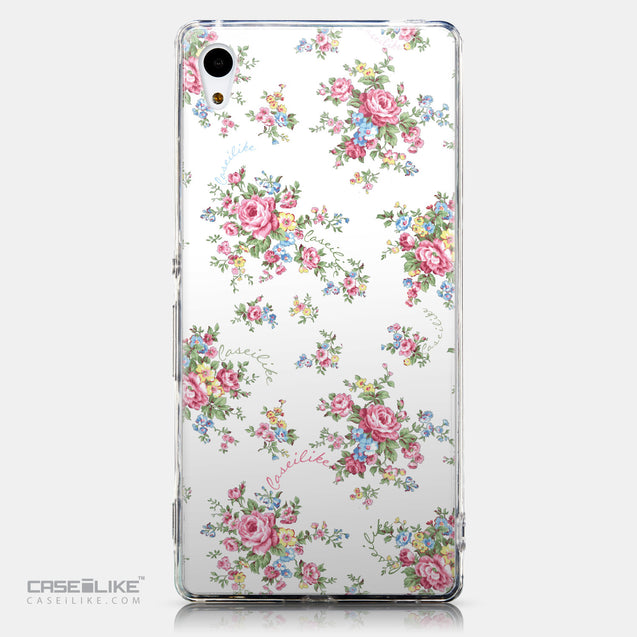 CASEiLIKE Sony Xperia Z3 Plus back cover Floral Rose Classic 2260