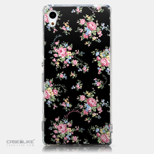 CASEiLIKE Sony Xperia Z3 Plus back cover Floral Rose Classic 2261