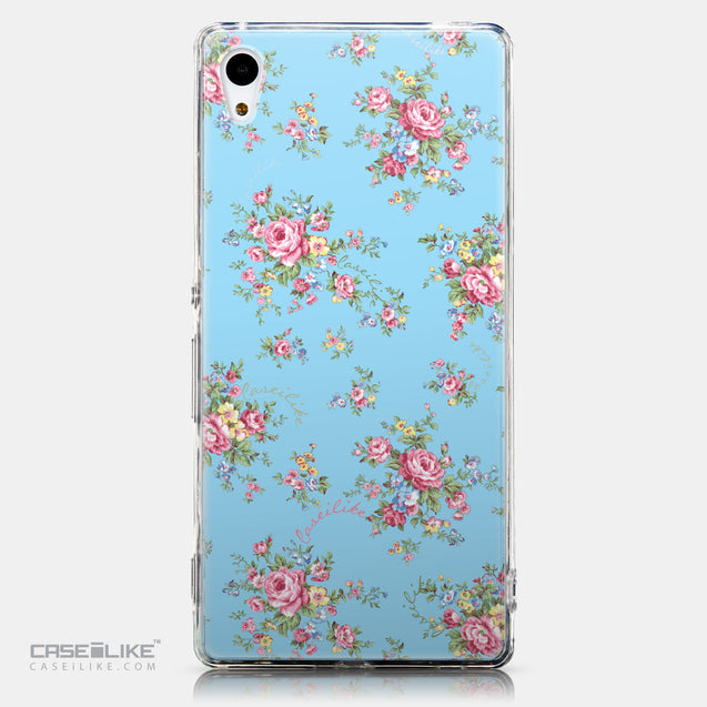 CASEiLIKE Sony Xperia Z3 Plus back cover Floral Rose Classic 2263
