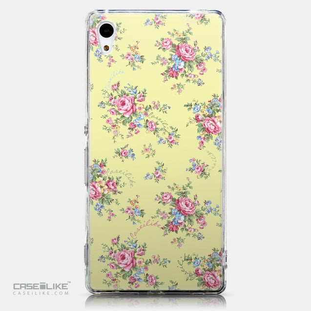 CASEiLIKE Sony Xperia Z3 Plus back cover Floral Rose Classic 2264